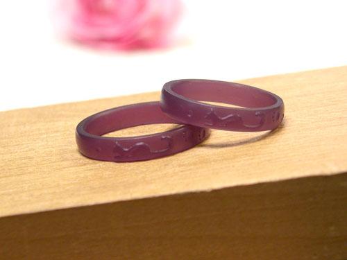ネコの結婚指輪原型